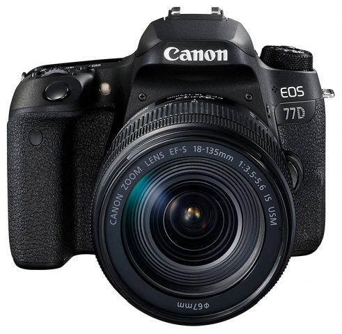Canon EOS 77D 18-135mm Zoom