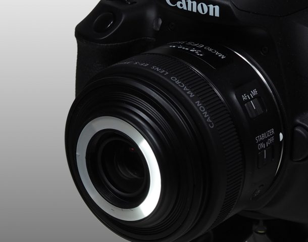 Canon Makro EF-S 35mm F2.8 LED Links