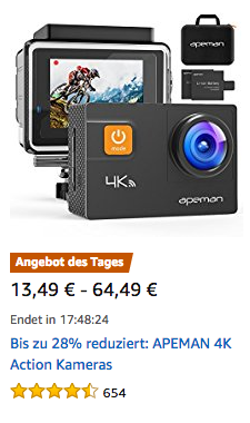 Apeman Amazon Angebot