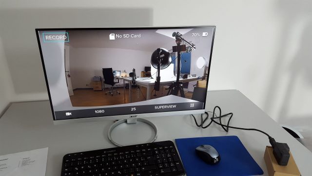GoPro Hero HDMI Anschluss an Monitor