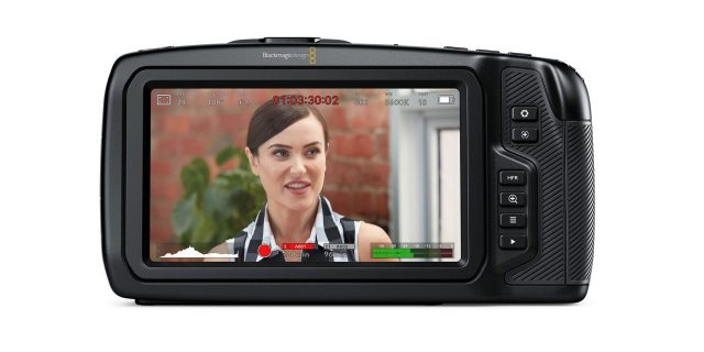Black Magic Pocket Cinema 4K Touchscreen