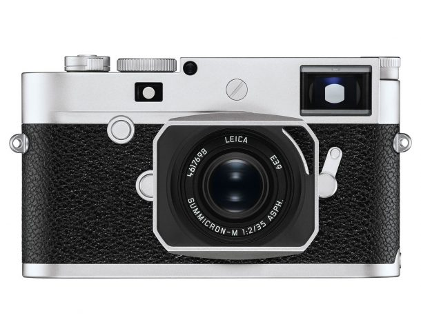 Leica M10 P Front Chrom Silber