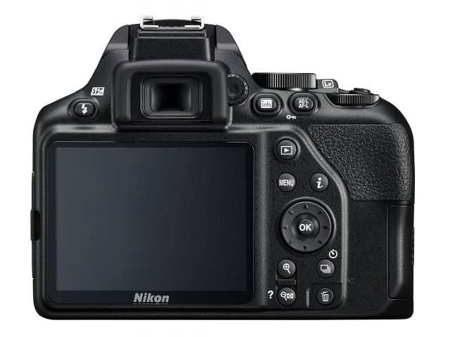 Nikon D3500 Touchscreen, articulated