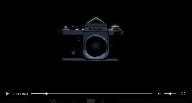 Nikon Teaser Video Z Mount