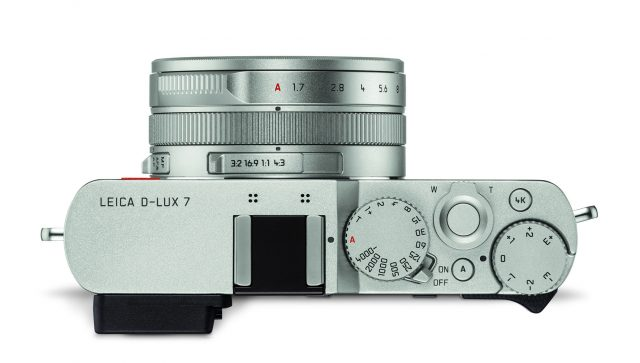 Leica D-Lux 7 Oberseite