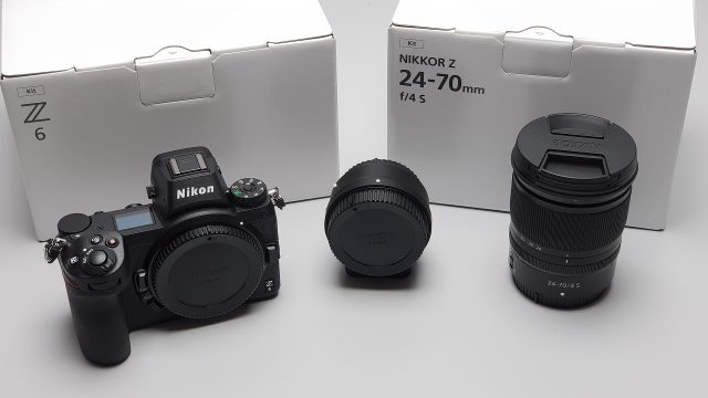 Nikon Z6 24-70mm Adapter FTZ