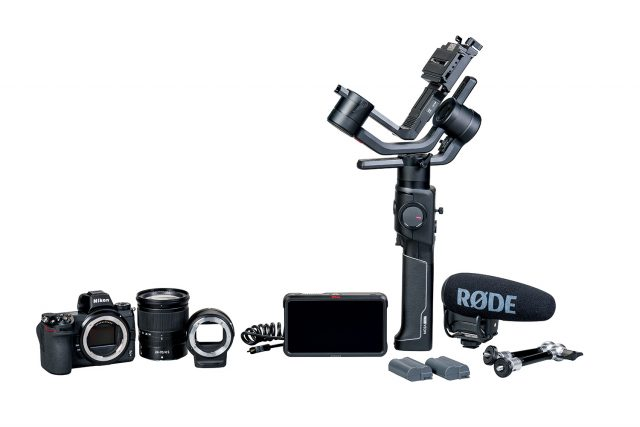 Nikon Z6 Filmmaker's Kit with Rode, Atomos, Moza Gimbal