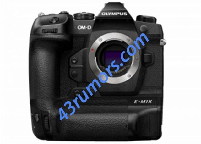 Olympus OM-D E-M1X Front
