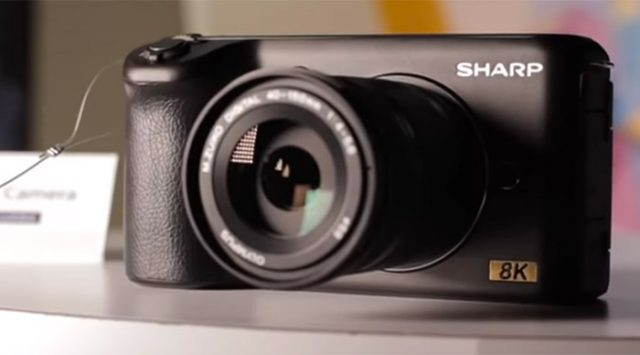 Sharp 8K Micro Four Thirds Camera CES 2019