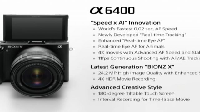 Sony A6400 Specifications