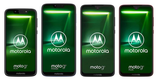 Motorola Moto G7, G7 Play, G7 Plus und G7 Power - Wasserdicht IP67, IP68