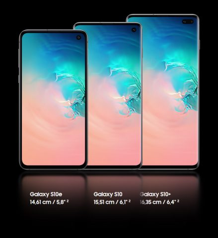 Samsung Galaxy S10e, S10 S10 Plus IP68 waterproof dust protection