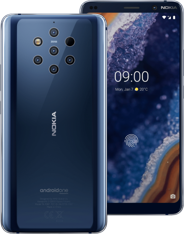 Nokia 9 Front and Back