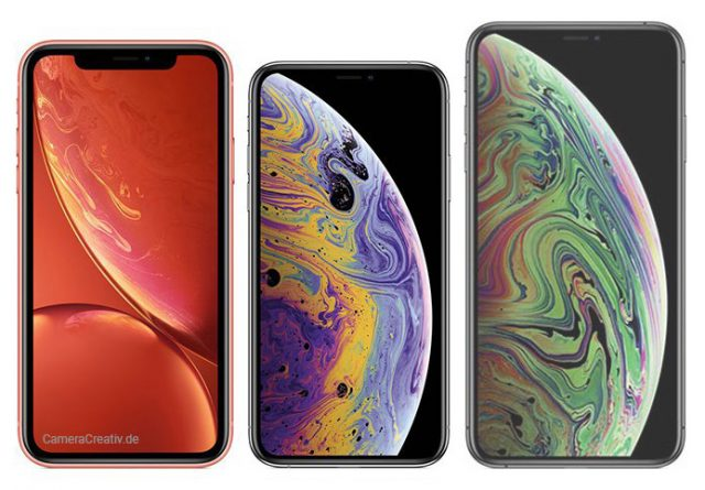 Apple iPhone XR vs XS vs XS Max - Induktives kabelloses Laden