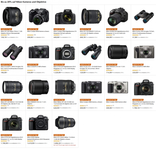 Amazon Nikon Angebote KW15