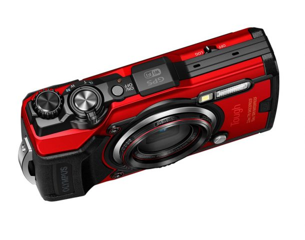 Olympus Tough TG-6 Oben