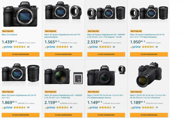 Amazon Nikon Black Friday 2019