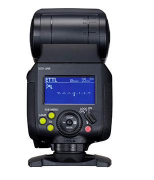 Canon Speedlite EL-1 Display
