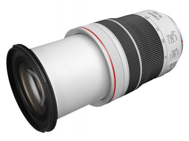 Canon RF 70-200mm F4 L IS USM extended length