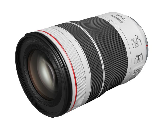 Canon RF 70-200mm F4 L IS USM compact