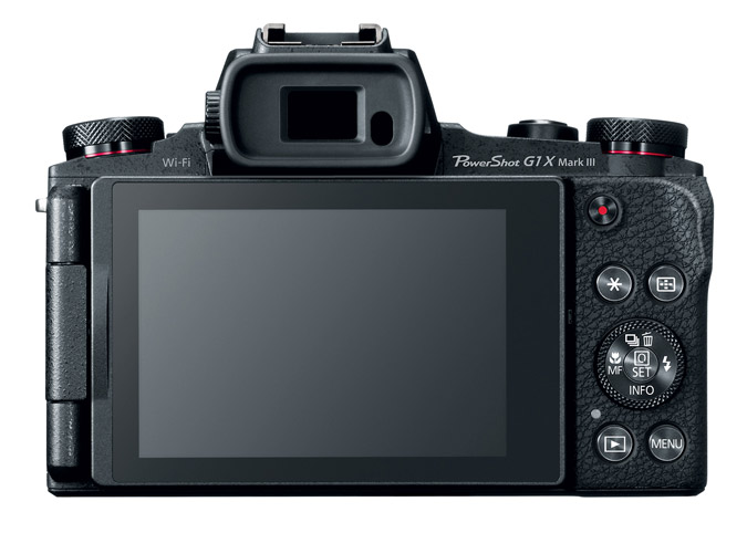 canon powershot g1 x mark iii bildschirm