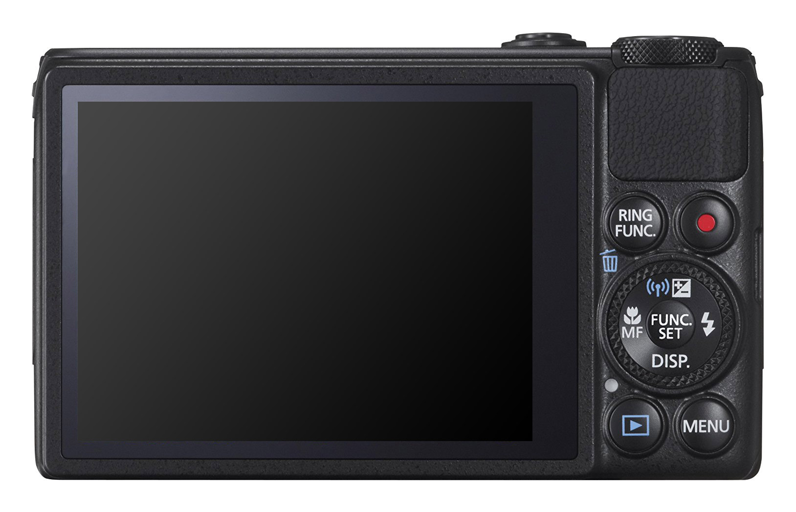 PowerShot S120 display and touch screen