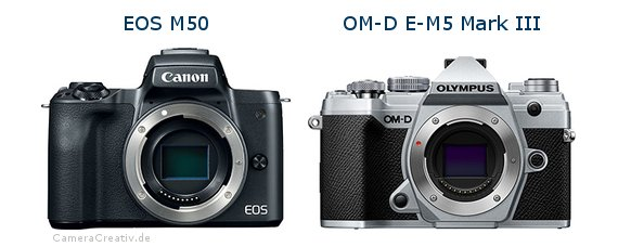 Canon eos m50oderOlympus om d e m5 iii