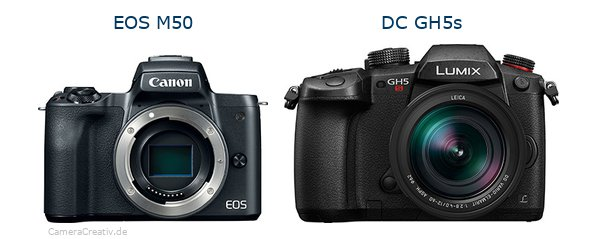 Canon eos m50oderPanasonic dc gh5s