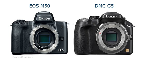 Canon eos m50 vs Panasonic dmc g5