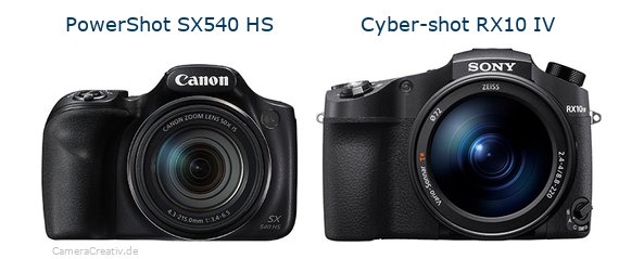 Canon powershot sx540 hs oder Sony cyber shot rx10 iv