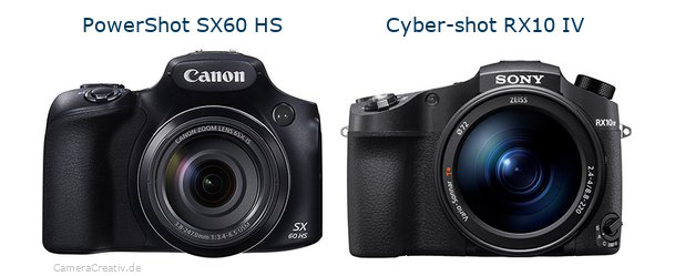 Canon powershot sx60 hs oder Sony cyber shot rx10 iv