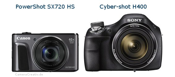 Canon powershot sx720 hs oder Sony cyber shot h400