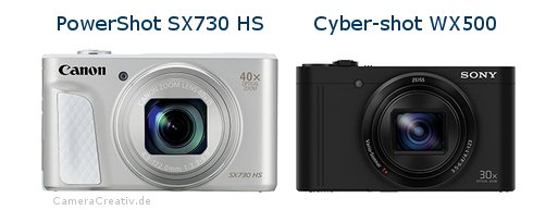 Canon powershot sx730 hs oder Sony cyber shot wx500