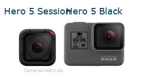 Digitalkamera Vergleich: Gopro hero 5 session oder Gopro hero 5