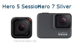 Digitalkamera Vergleich: Gopro hero 5 session oder Gopro hero 7 silver