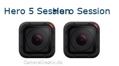 Digitalkamera Vergleich: Gopro hero 5 session oder Gopro hero session