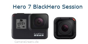 Digitalkamera Vergleich: Gopro hero 7 black oder Gopro hero session