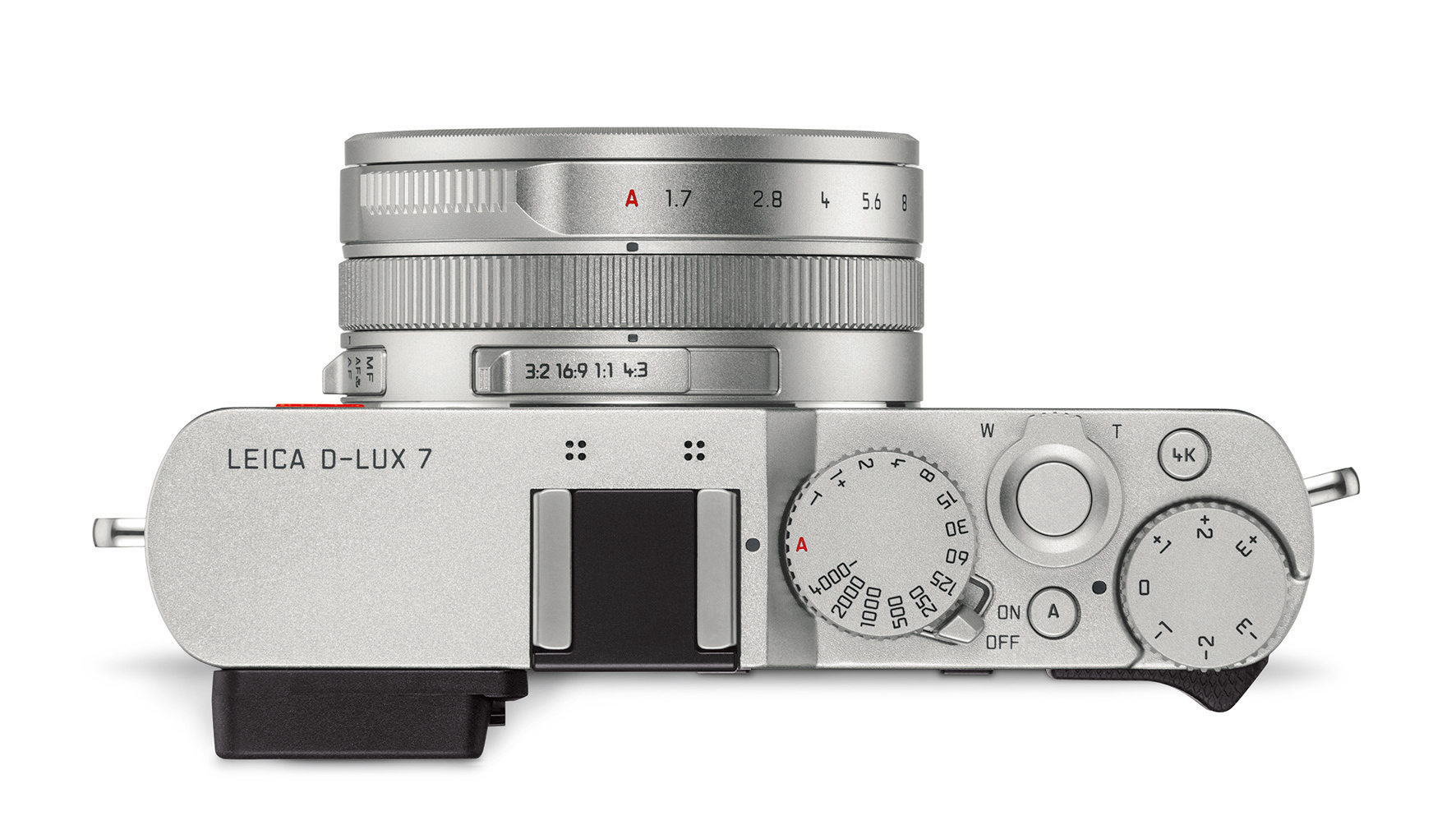 leica d lux 7 oberseite