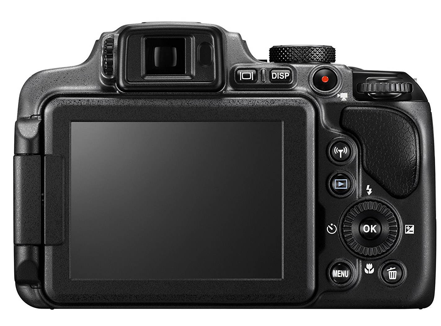 Coolpix P610 display