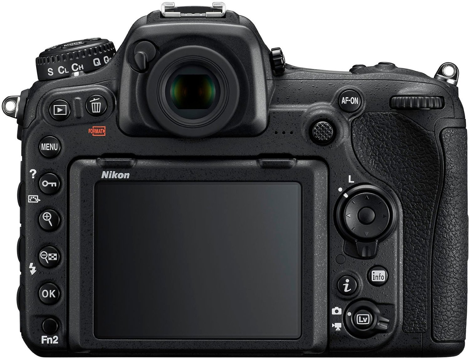 D500 display and touch screen