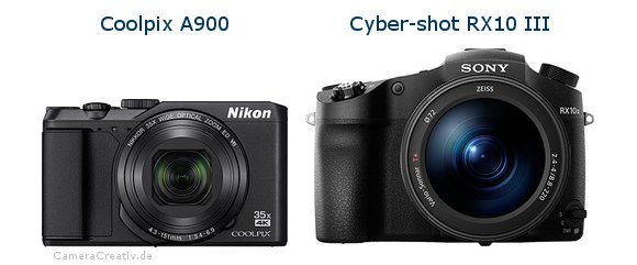 Nikon coolpix a900 oder Sony cyber shot rx10 iii