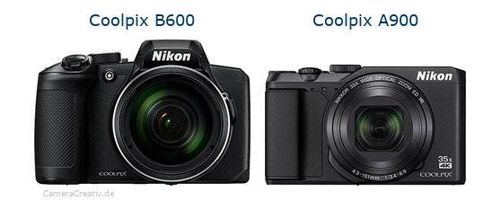 Nikon coolpix b600 vs Nikon coolpix a900