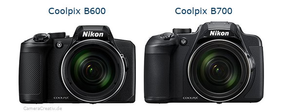 Nikon coolpix b600 vs Nikon coolpix b700