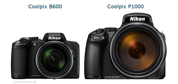 Nikon coolpix b600 vs Nikon coolpix p1000