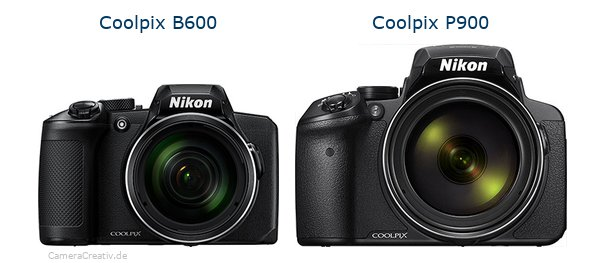 Nikon coolpix b600 vs Nikon coolpix p900