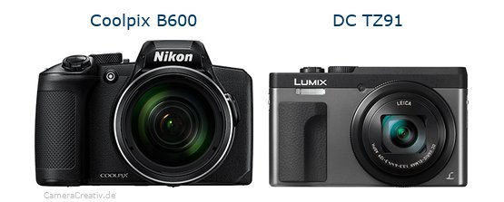 Nikon coolpix b600 vs Panasonic dc tz 91