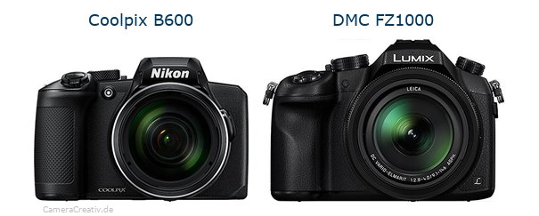 Nikon coolpix b600 vs Panasonic dmc fz 1000