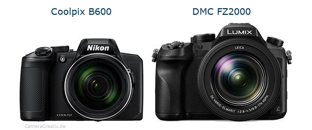 Nikon coolpix b600 vs Panasonic dmc fz 2000