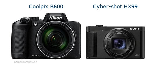 Nikon coolpix b600 vs Sony cyber shot hx 99