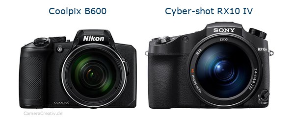 Nikon coolpix b600 vs Sony cyber shot rx10 iv